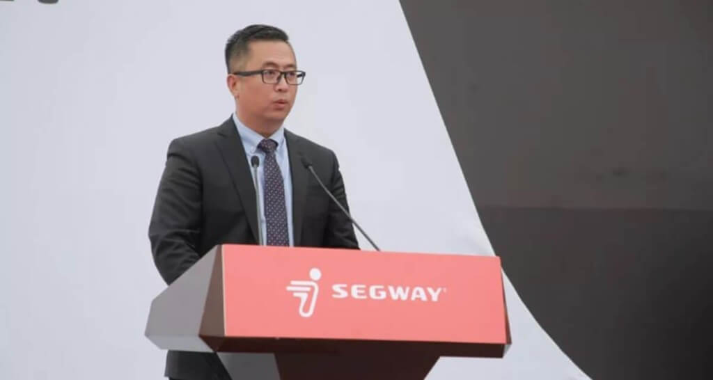 Gao Lufeng, Founder & CEO of Segway-Ninebot
